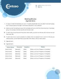 Word Template Minutes Template Minutes Of Meeting Word Hostingpremium Co