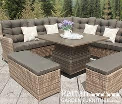 corner rattan sofas modular sets