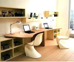 two person office desk. Home Two Person Office Desk L