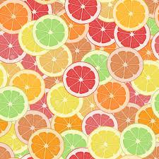 Fruit Pattern Mesmerizing Seamless Pattern Background Citrus Wallpaper Fruit Vector Tropical