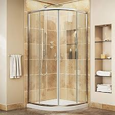 36 x 36 corner shower kit. dreamline prime 36 in. d x w kit, with corner sliding shower kit