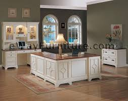 white home office desk. White Office Furniture Collections | Distressed Executive Home Desk And Return LOVE THIS! C