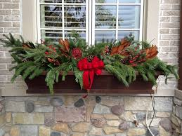 Decorating Window Boxes For Winter winter outdoor decorations My Web Value 2
