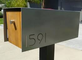 modern mailbox dwell.  Modern Modern Mailboxes U2014 ACCESSORIES  Better Living Through Design On Mailbox Dwell Pinterest
