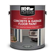 1 Part Epoxy Concrete Garage Floor Paint Behr Premium