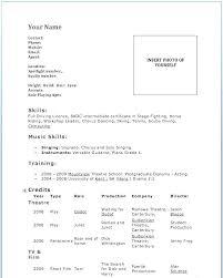 Dance Resume Classy Dance Resume Example Arzamas
