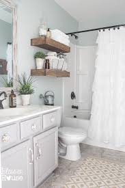 Cheap Bathroom Makeover Fascinating Modern Farmhouse Bathroom Makeover Reveal Bathrooms Pinterest