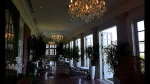 another seating area that brings the outdoors inside at the cavalier hotel