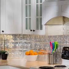 Stainless Steel Backsplash Kitchen Kitchen Design Backsplash Ornament Fleur De Lis Kitchen Decor