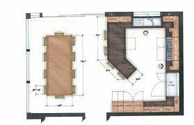 Country Kitchen Floor Plans Interesting Kitchen Plans