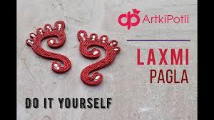 Laxmi Pagla Designs Handmade Laxmi Paglya Diwali Decoration Youtube