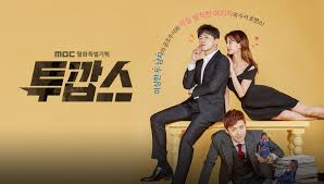 Image result for two cops korean