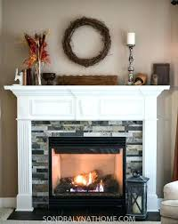excellent faux stone over brick fireplace stone veneer over brick fireplace pertaining to stone veneer over brick fireplace ordinary