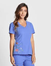 Jaanuu Size Chart The Embroidered Top In Ceil Blue Is A Contemporary Addition