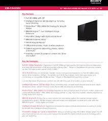 Advanced Design Systems Digital Photo Frame User Manual Sony Xbr 52hx909 User Manual Marketing Specifications