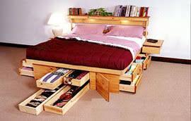 Come Fare Un Letto Contenitore : Cassettoni per il letto