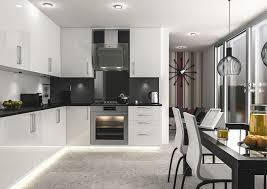 ultragloss white kitchen doors