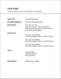Amazing Common Resume Format Download Elaboration Resume Ideas