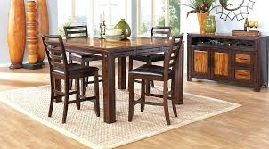 rooms to go round dining room table chocolate 5 counter height dining room sets with regard