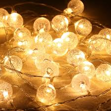 Battery Operated Indoor Lights Us 14 29 20 Led 220 Cm Bubble Crystal Ball Waterproof Led Globe String Lights Battery Operated Indoor Outdoor Decorative Fairy Lights In Lighting