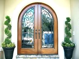 wrought iron entry door rod iron front door glass and iron front doors exterior wrought iron