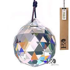 1pcs chandelier hanging crystal ball sun catchers rainbow prisms feng shui 50mm