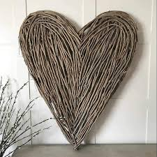 hearts beautiful large wooden heart wall decoration