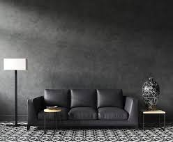 what wall color goes with black