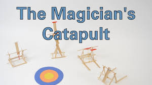A Team Of Engineering Students Is Designing A Catapult The Magicians Catapult Activity Teachengineering