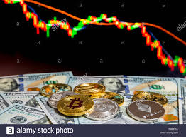 Bitcoin And Cryptocurrency Investing Concept Physical