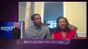 Mom And Son In Viral Voting Video Already Voted Essence