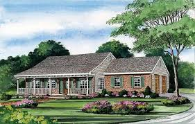 Best ranch house plans   porch ranch country home plans