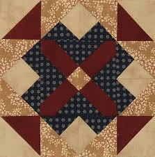 126 best Creative Notions Quilts & Blocks images on Pinterest ... & Legacy BOM Block #2 - Pattern is Courage at Pickett's Mill, Civil War  Designs Adamdwight.com