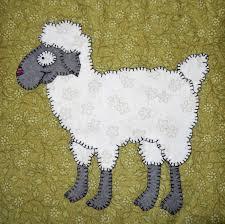 Sheep or ewe PDF applique pattern farm animal applique quilt & 🔎zoom Adamdwight.com