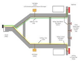 4 wire trailer lighting wiring diagram simonand trailer wiring color code at Trailer Lights Wiring Diagram