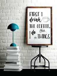 office artwork ideas. Best Art For Office Excellent Coffee Wall Ideas On Shop Menu Regarding . Artwork
