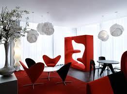 Interior:Living Room Interior Design Color Schemes Red Color Interior  Decorating Lantern And Unique Furniture