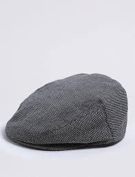 Erkek Siyah Pamuklu Kasket - T09001222M