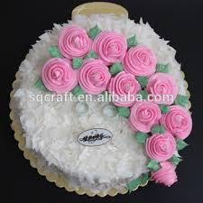 High Quality Lifelike Custom Plastic Birthday Cake Model For Home