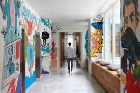 jwt amsterdam office 8 hallway advertising agency office design