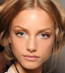 stunning blonde hair blue makeup natural for image of eye por and make up blond brown