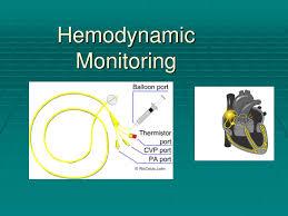 Ppt Hemodynamic Monitoring Powerpoint Presentation Id 4750943