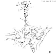 1990 1995 y engine mounting lt5 white racing products llc 14 bolt engine mount bracket brace 1990 1995 model