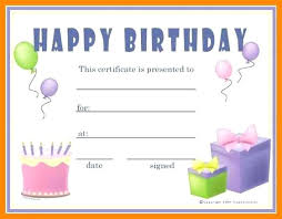 Word Templates For Gift Certificates Gift Card Template Word Birthday Voucher Certificate Free Cards
