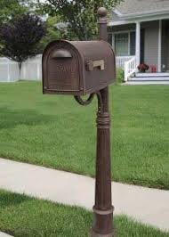 unique mailboxes for residential. Wonderful Residential Classic Copper Curbside Mailbox With Ashland Post Unit In Unique Mailboxes For Residential S