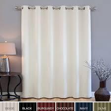 Window Treatments Metal Doors Easy Decorative Overthedoor Shelf Auburn Semisheer Thermal