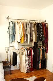 DIY + Industrial + Pipe + Shelving via hello lidy  Bedroom ClosetsBedroomsClothes  Rack ...