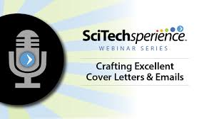 Crafting A Cover Letter Crafting Excellent Cover Letters And Emails Scitechsperience