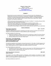 Procurement Buyer Resume Sample