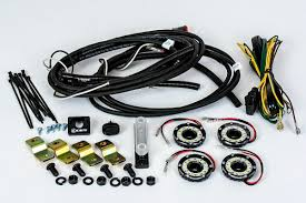 cyclone led lights dome led lighting under hood wheel well cyclone led rock light kit for jeep jk